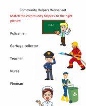 community helpers worksheet for grade 5
