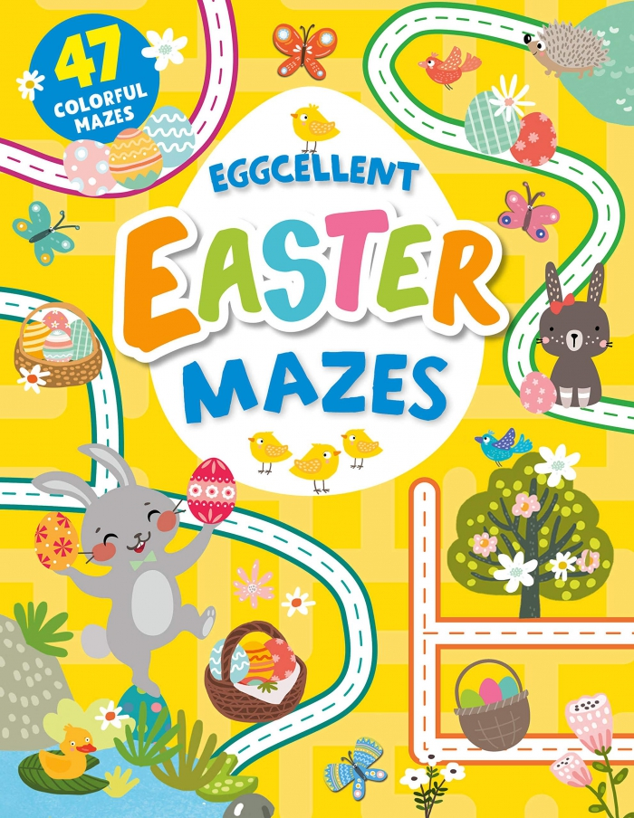 Eggcellent Easter Mazes  Colorful Mazes Clever Mazes Clever