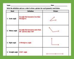 Basic Geometry: Anatomy Of An Angle