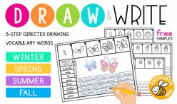 Read, Write, And Draw: Summer