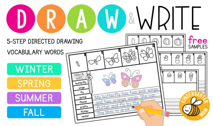 Free Directed Drawing Worksheets
