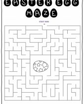 free easter maze worksheets for kids lemon kiwi designs 9