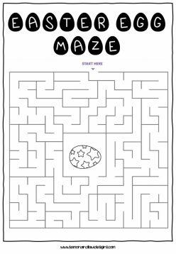 Egg-Cellent Maze