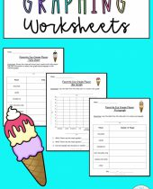 Graphing Worksheets Favorite Ice Cream Flavor