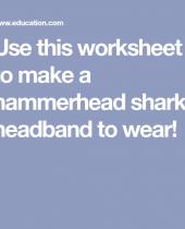 hammerhead shark headband 6