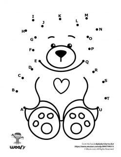 Dot To Dot A To Z: Teddy Bear