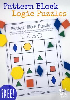 Math Pattern Puzzles