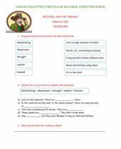 pecos bill and the tornado worksheet 9