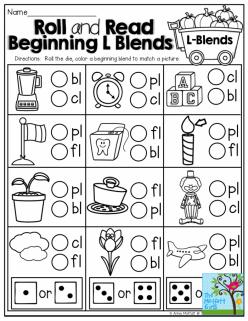 Consonant Sounds: L Blends