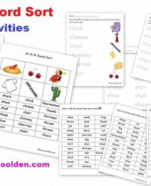 sh ch th word sort activities free 9