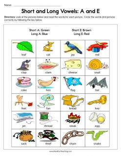 Learning Long Vowels: Long I Words