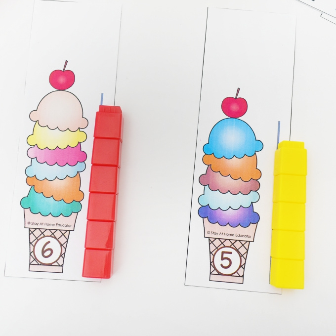Summer Learning Activities  Free Ice Cream Cone Measurement