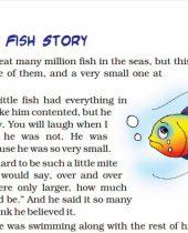 A Little Fish Story Class English Ncert