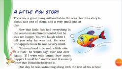 Make A Mini Story Book: Five Little Fish