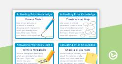Reading Strategies: Activate Prior Knowledge