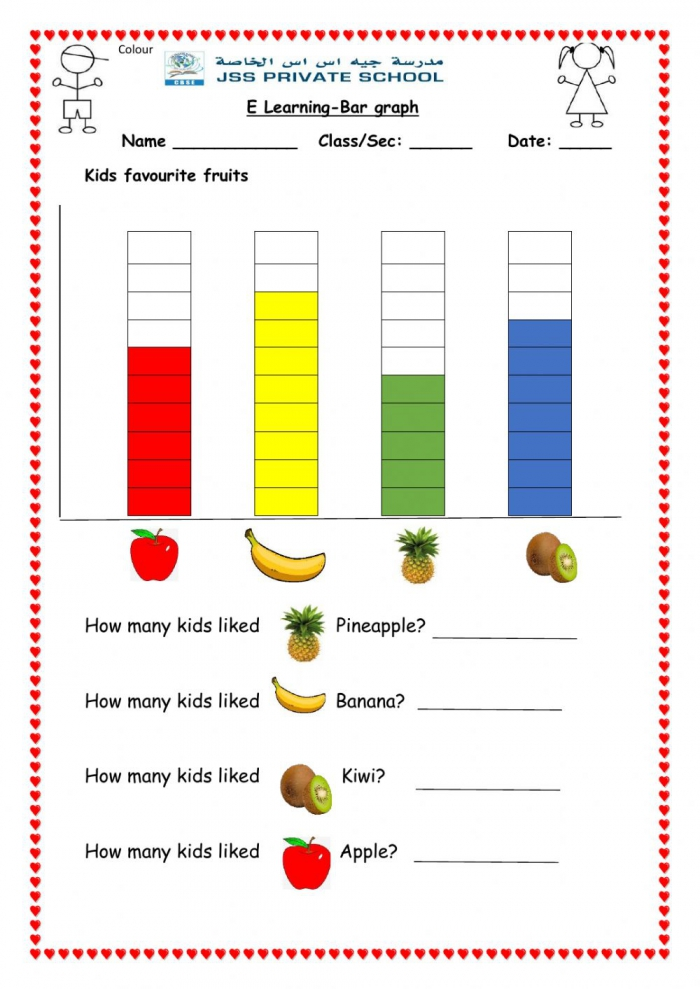 Bar Graph Online Pdf Worksheet