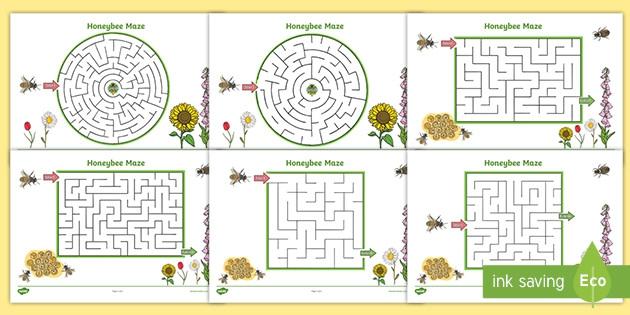 Bee Worksheets