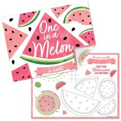Count The Fruit Activity Placemat