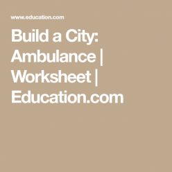 Build A City: Ambulance