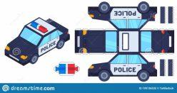 Build A City: Police Car