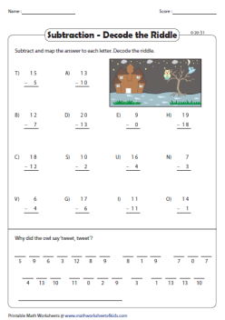 Shark!: Two-Digit Subtraction With Regrouping