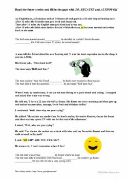Fill-In A Funny Story #3