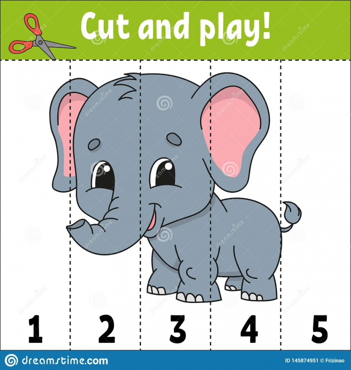 Learning Numbers Education Developing Worksheet Game For Kids