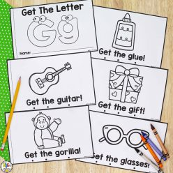Get Ready For Reading: All About The Letter G