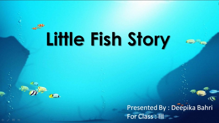Little Fish Story Cbse Class English Lesson Summary Question