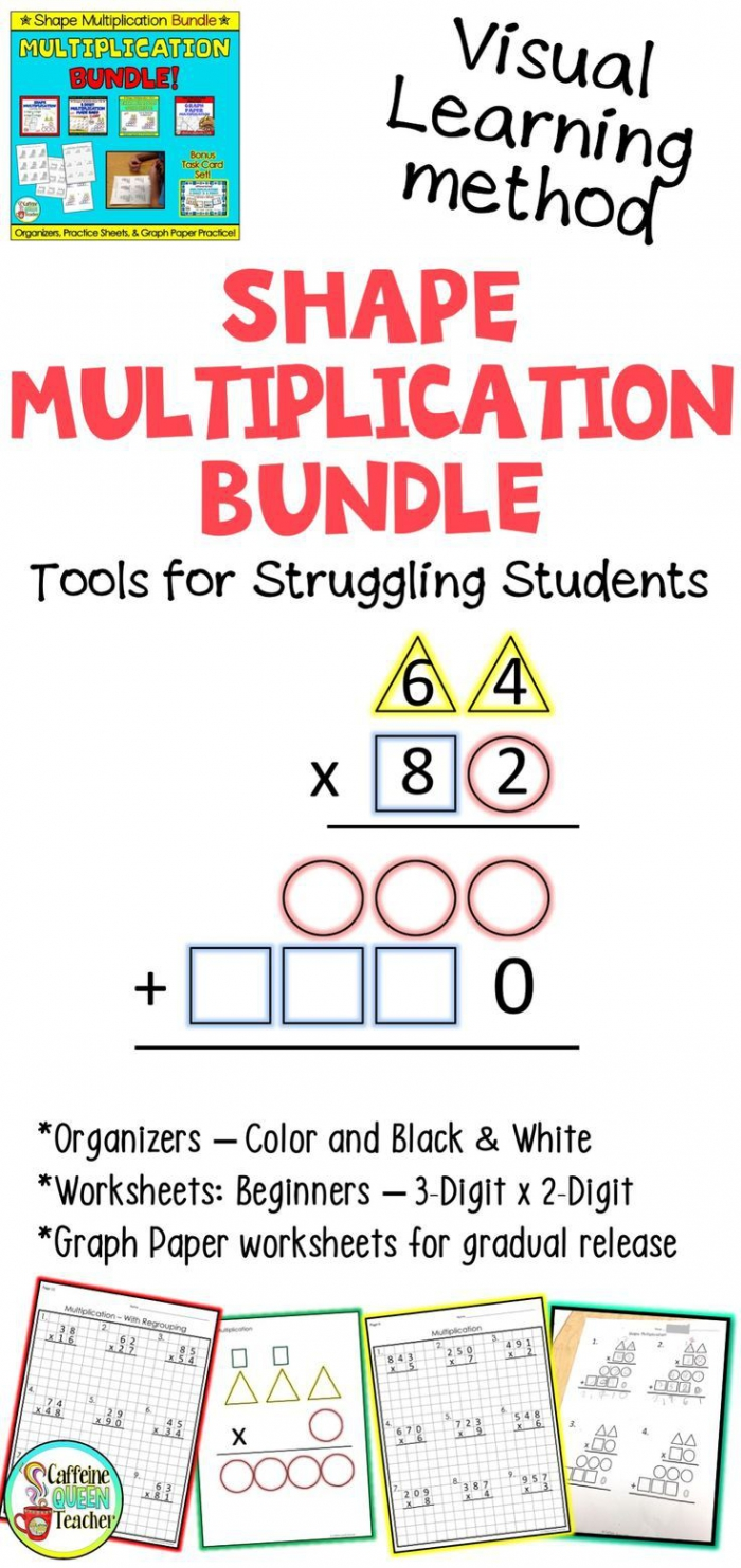 Multiplication Strategy For Visual Learners