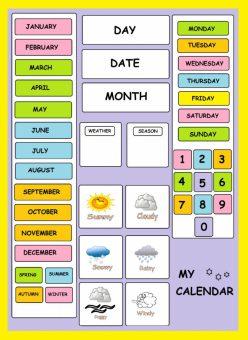 April 2020 Calendar: Days And Dates