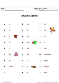 "Spanish Alphabet: ""A"""
