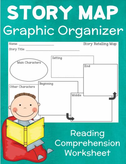Story Map Graphic Organizer Worksheet