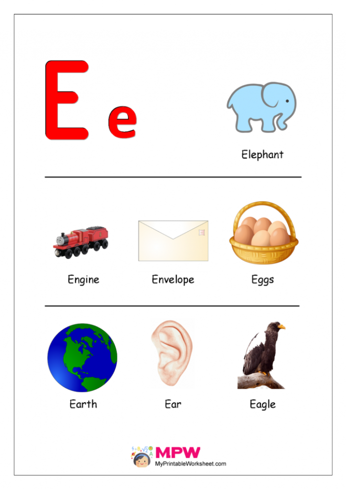 Things That Start With E
