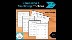 Portion Control: Color The Fractions