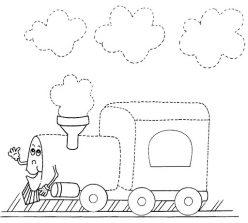 Trace The Train