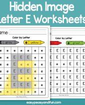Letter E Easy Peasy And Fun Membership
